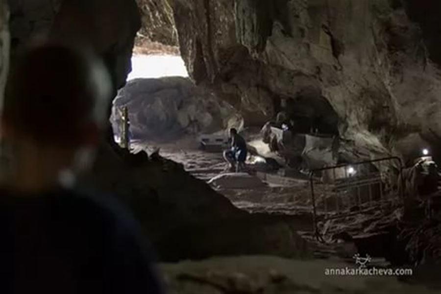 В пещере на станции Tamkasae