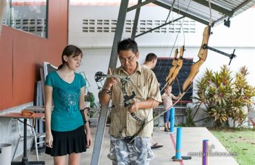 Khun Santi, Phuket Archery Club