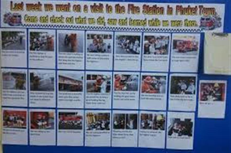 Дети на пожарной станции Пхукета