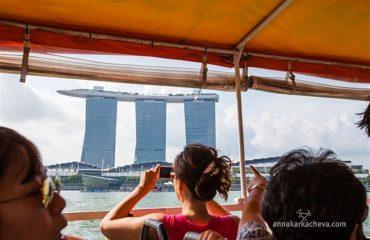 Тур по реке, Сингапур