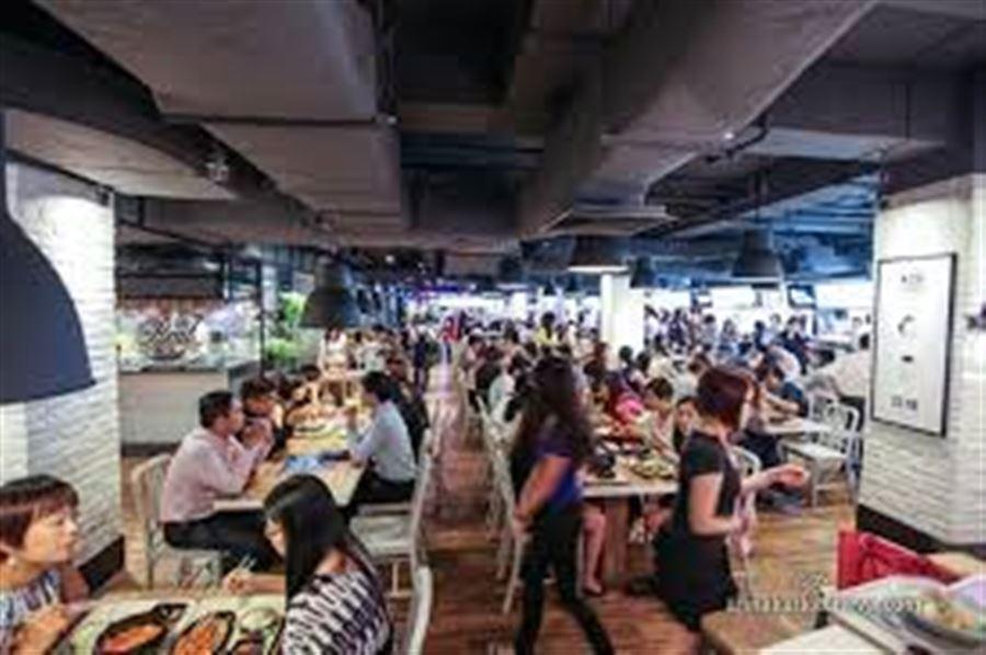 Обед в Сингапуре
