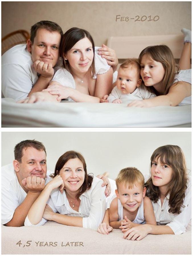Было и стало, семейный портрет