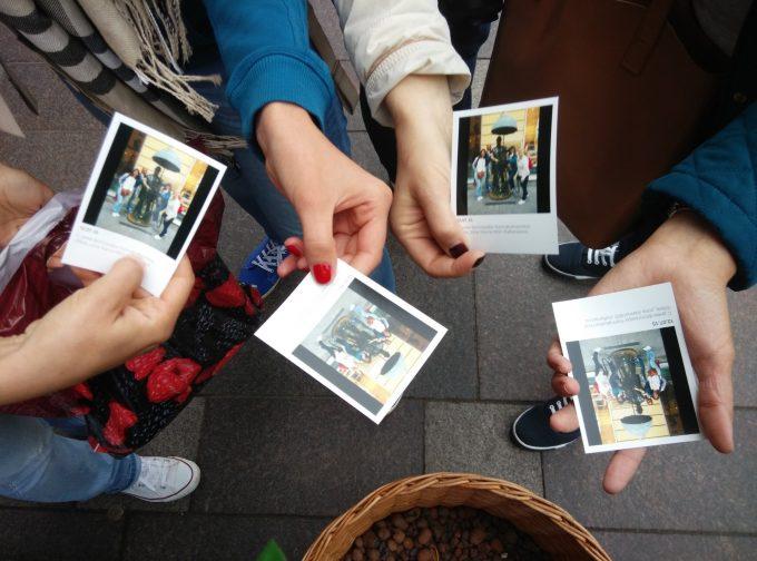 Печать фото из Инстаграма будка на Невском