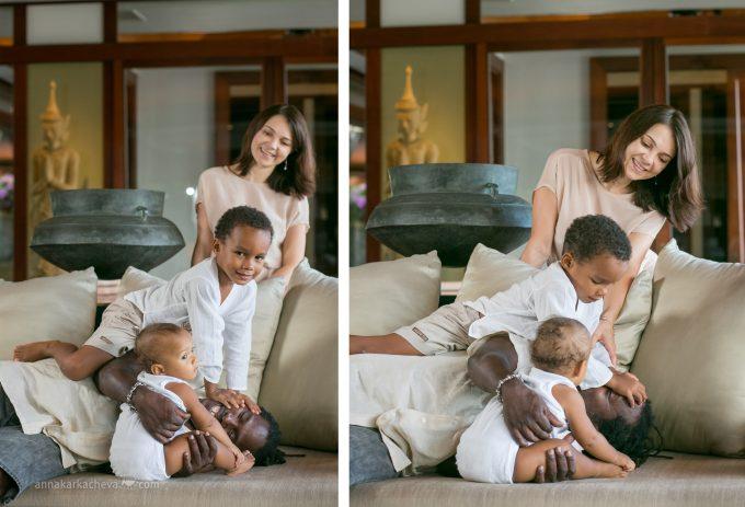 Семейная Фотосессия на вилле