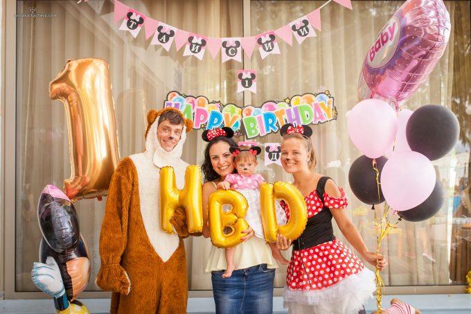 Фоторепортаж детского дня рождения
