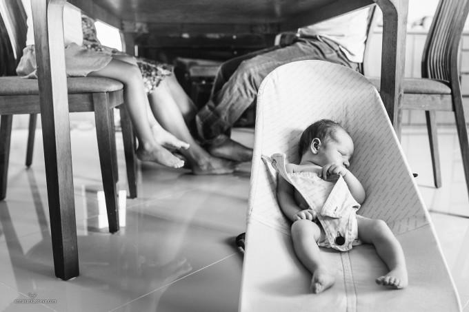 Лайфстайл с новорожденным