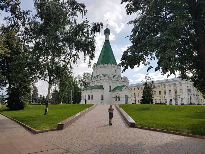 Храм Архангела Михаила в Нижегородском Кремле