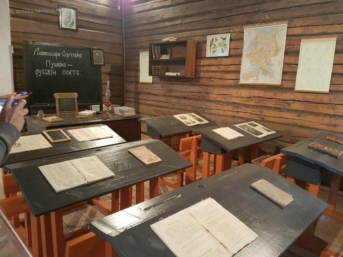 Церковно-приходская школа в Усадьбе Львовка