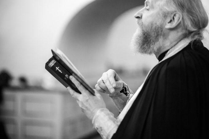 Фото съемка Крещения в Петербурге