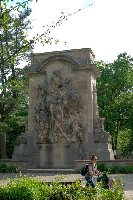 Монумент Битве Революционной войны в Принстоне