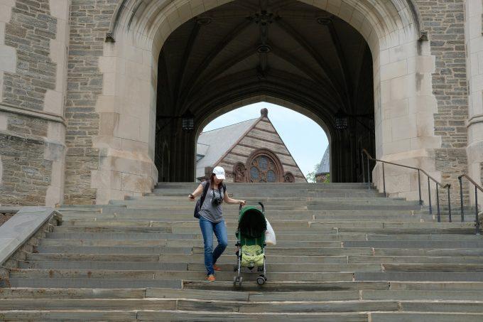 Прогулка по Принстонскому Университету с детьми