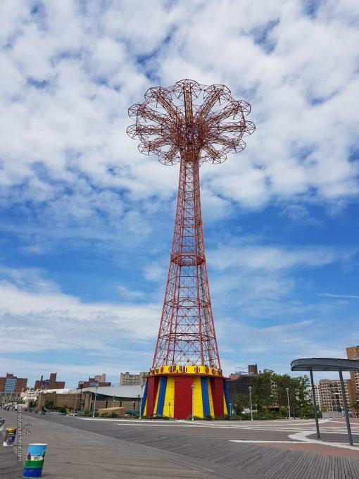 Parachute Jump Luna Park NYC