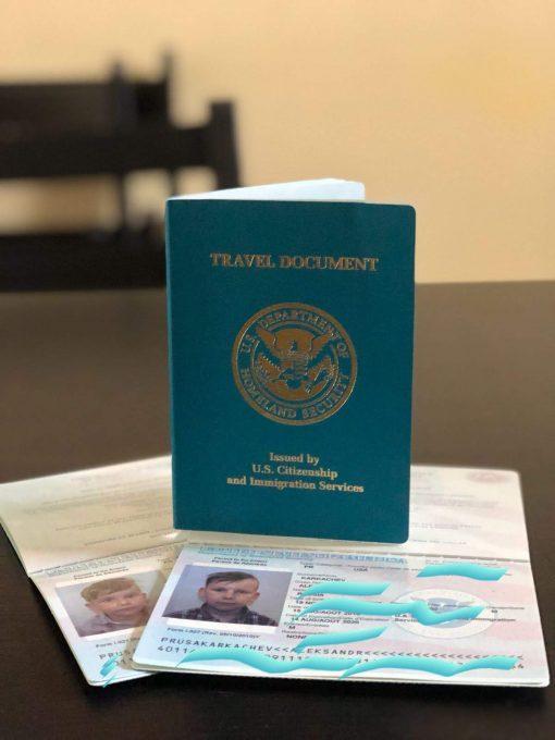 Тревел документ США