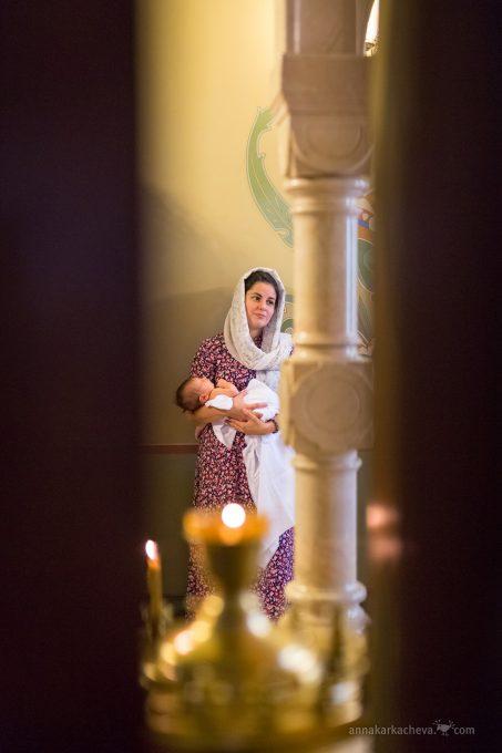 Таинство Крещения фотограф Петербург