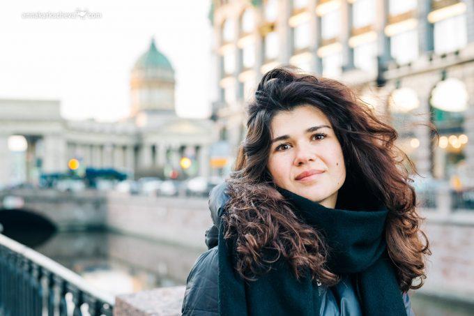 Фотосессия у Дома Книги Санкт-Петербург