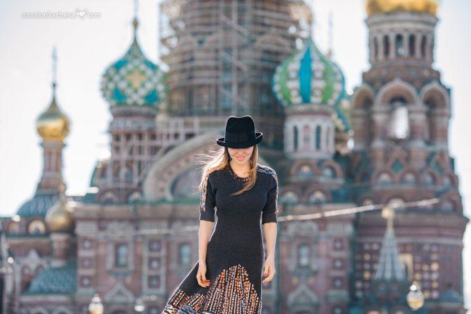 Фотосессия прогулки достопримечательности Петербурга