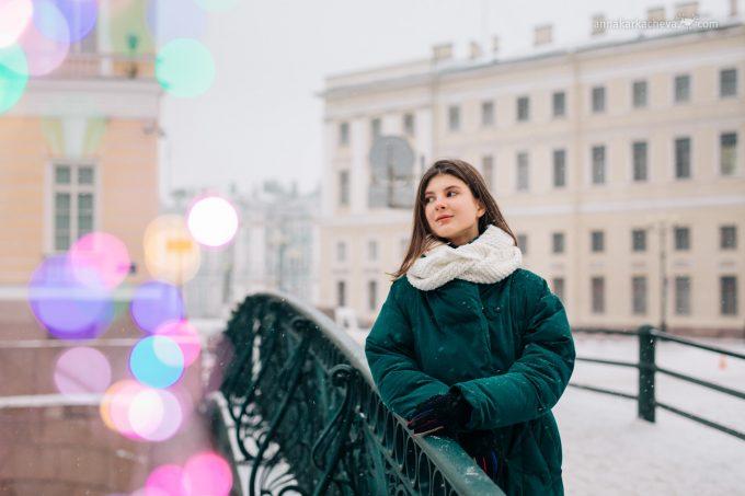 Фотопрогулки по Петербургу с Анной Каркачевой