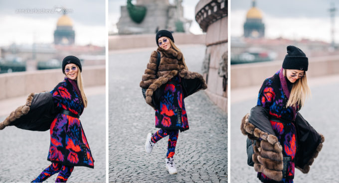 Фотосессия для девушки в Петербурге