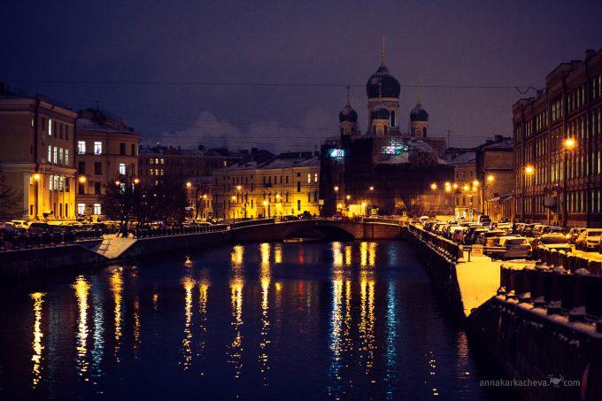 Вид на Могилевский мост и Церковь святого Исидора Юрьевского