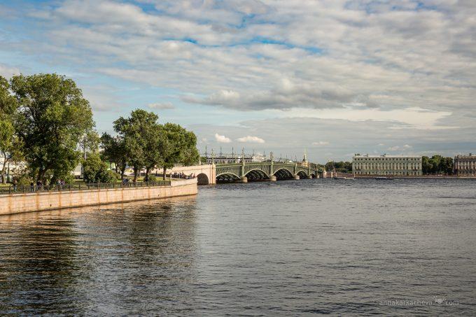 Факты о Троицком мосте в Петербурге