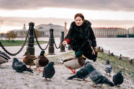Фотопрогулка по Санкт-Петербургу с Анной Азбель