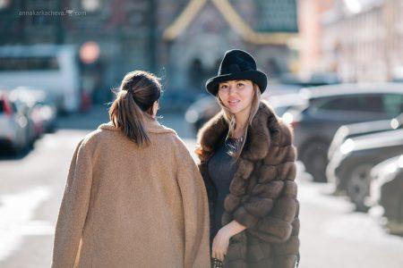 Фотопрогулка с подругой в Петербурге