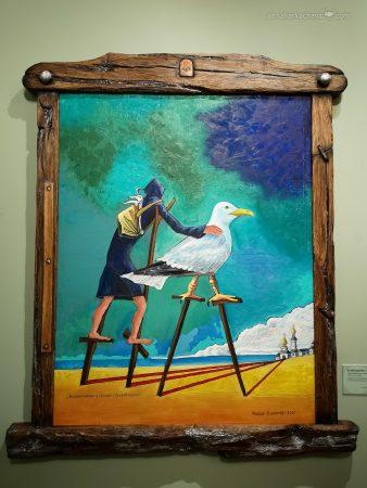 Чайки в творчестве Федора Конюхова