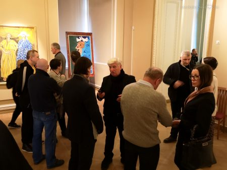 Открытие выставки Федора Конюхова в Петербурге