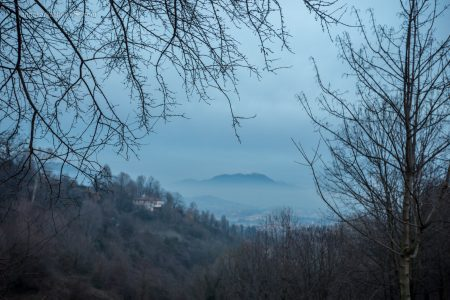 Виды с верхнего города в Бергамо