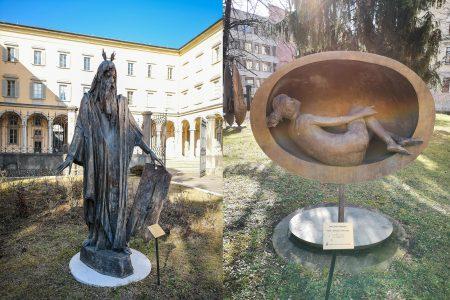 Арт объекты в нижнем Бергамо