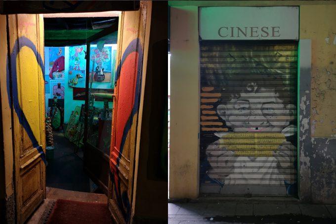 Ночные улица Милана, район Навильи