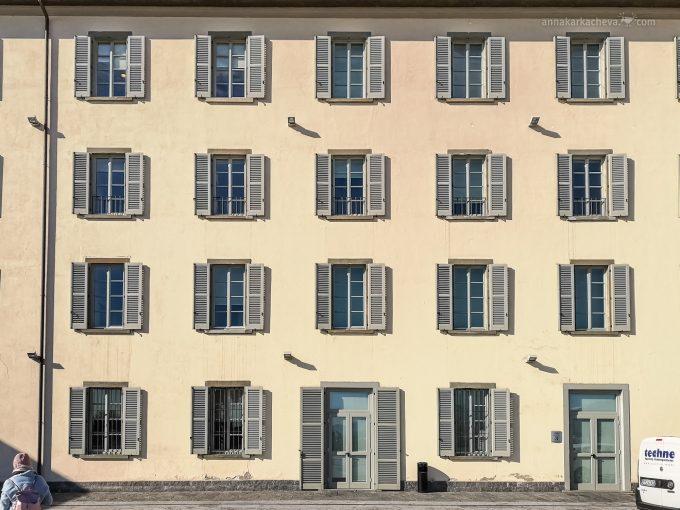 Окна и Двери Бергамо Италия
