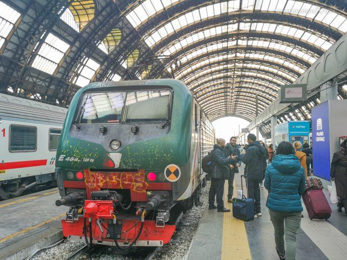Итальянский поезд