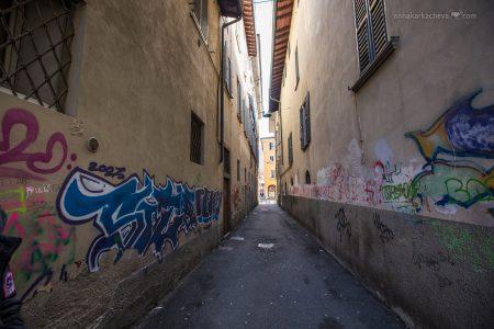 По улочкам нижнего Бергамо