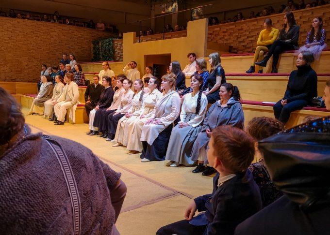 Места на сцене Мариинского