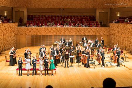 Сцена Концертного Зала Мариинского театра
