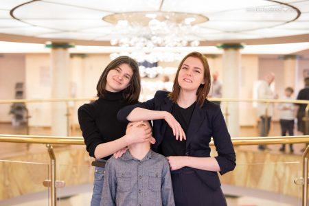 Дети в Концертном Зале Мариинского театра