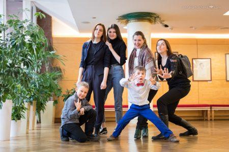 Дети в Мариинском театре