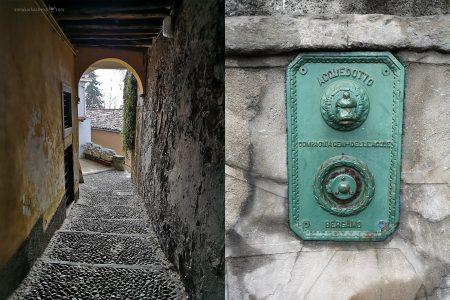 Прогулки по верхнему городу Бергамо. Детали
