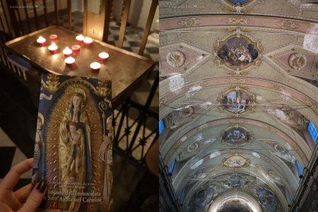 Церковь Святой Агаты Кармине в Бергамо