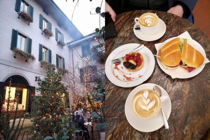 Завтрак в Бергамо