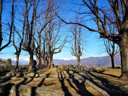 В крепости San Vigilio Bergamo