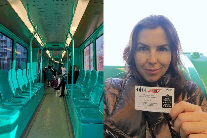 Трамвай Милана и проездной на 48 часов