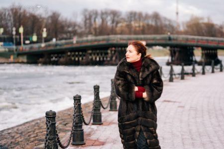 Фотосессия для блогера в Петербурге