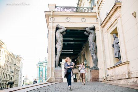 Фотосессия с подругами в Петербурге