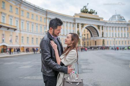 Семейная Фотопрогулка в Петербурге