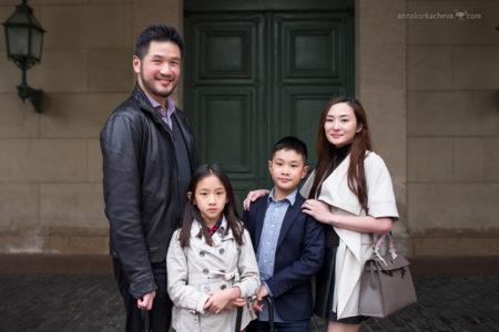 Семейная фотосессия у Атлантов