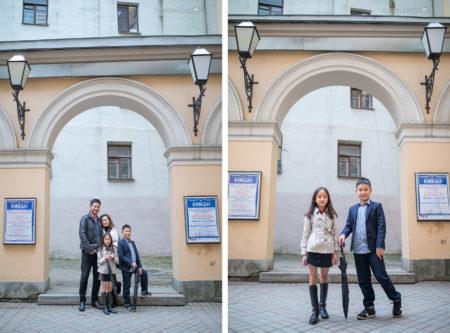 Семейная фотосессия в Санкт-Петербурге