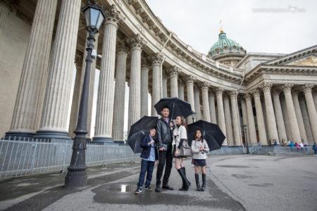 Семейная фотосессия у Казанского собора