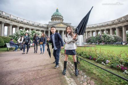 Фотопрогулка с детьми в Петербурге